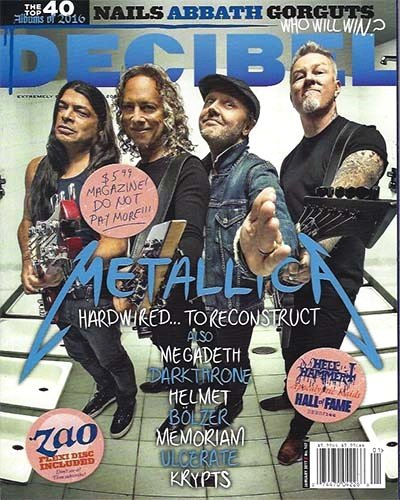 Rich Davis - Decibel Magazine - January, 2017