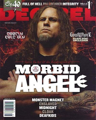 Rich Davis - Decibel Magazine, January 2018