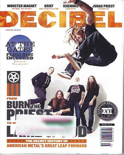 Rich Davis - Decibel Magazine, May 2018