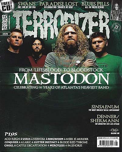 Rich Davis - Terrorizer Magazine - August, 2016