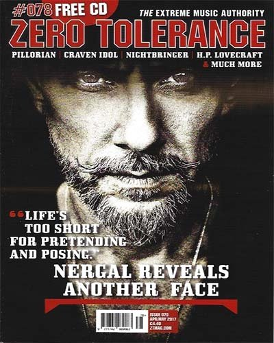 Rich Davis - Zero Tolerance Magazine - April, 2017